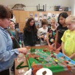 Eastford students learn how to prevent about water pollution.