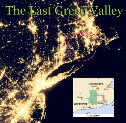The Last Green Valley at Night