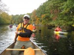 Walktober Paddle with Chief Ranger Bill, photo by L. Bruinooge