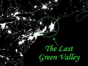 Satellite image with northeast region