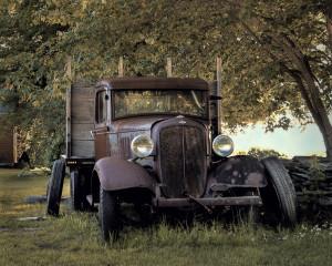 Old Farm Truck by Sandee Harraden, 2105 TLGV Calendar Photo Contest Winner