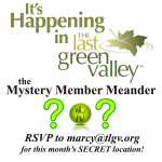 Mystery Member Meanders in The Last Green Valley! May 2016…somewhere in Coventry, CT!