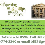 TLGV February Member Program – Tour and Program at the Tourtellotte Museum