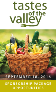 Taste and Sip Locally at Tastes of the Valley