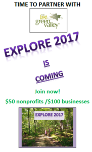 Explore Business & Nonprofit Partnerships with The Last Green Valley in 2017!