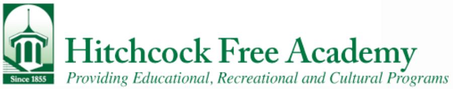 Hitchcock Free Academy – A Community Center