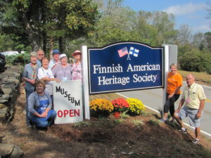 Finnish American Heritage Society celebrates 2016 TLGV Grant.