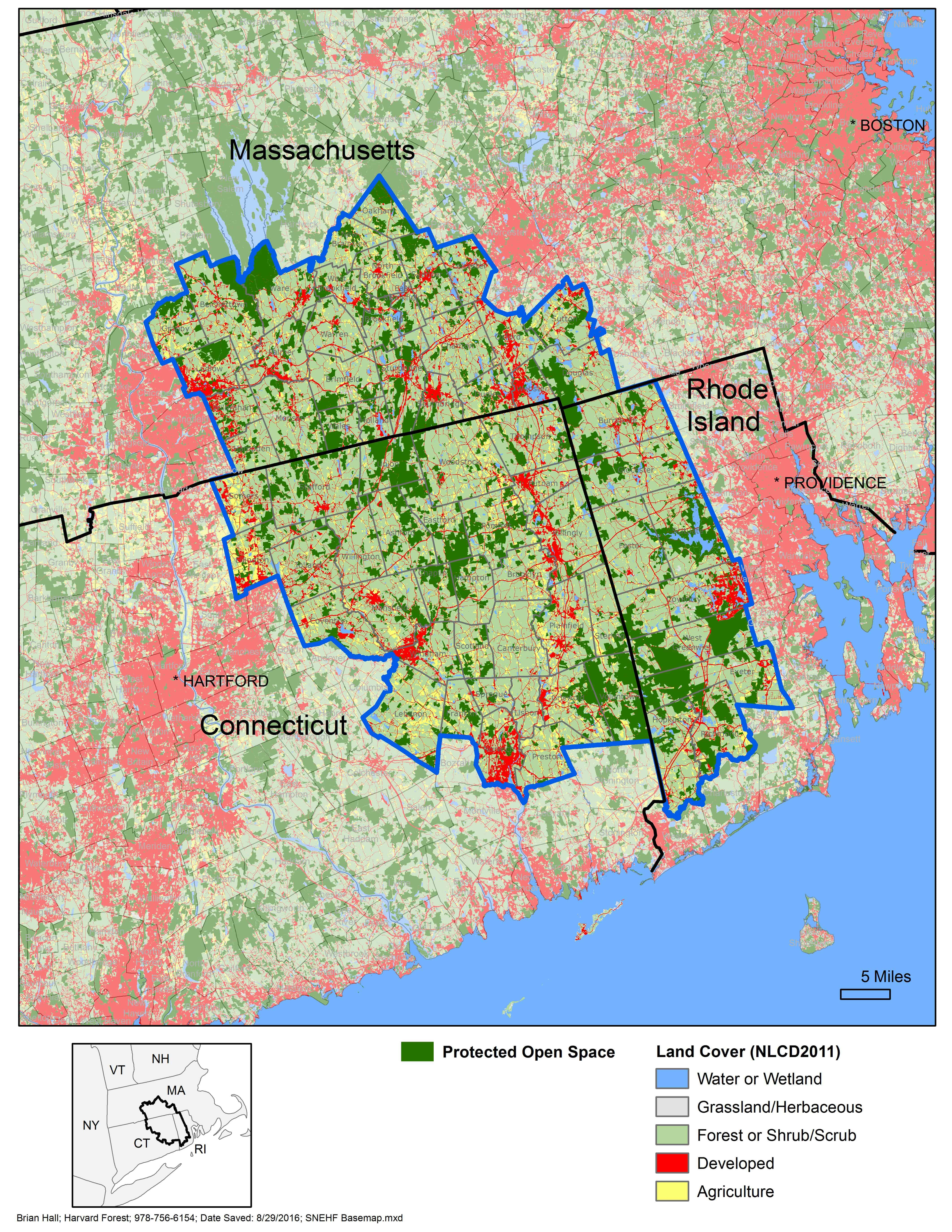 Southern New England Heritage Forest - The Last Green Valley on