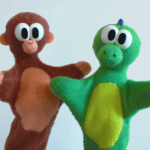 """Monkey and Dino's Funky Puppet Show!"" by John Cody"