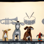 """""""Bremen Town Musicians"""" by CactusHead Puppets"""