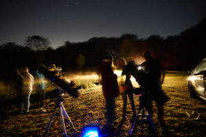 Dark Skies event. Walktober 2018. Astronomy