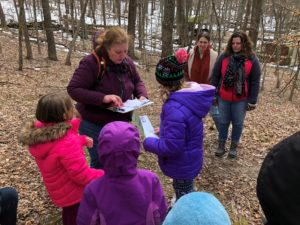 2018 March Acorn Adventure. Letterboxing.