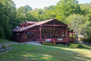 Dining Hall at Camp Laurel